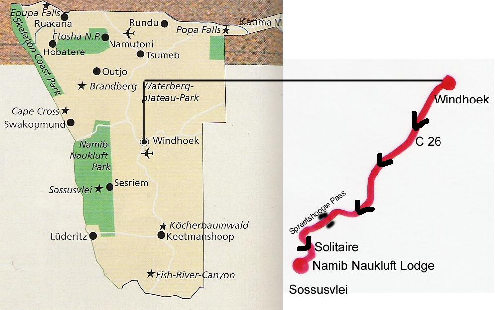 Namibia Etappe 1