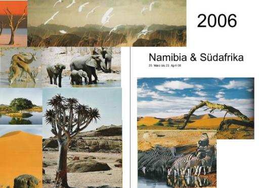 Namibia - Suedafrika - Titel