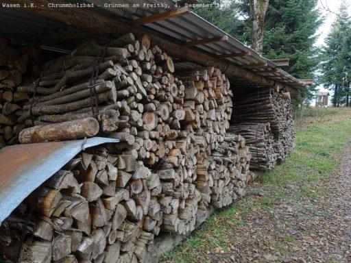 Viel Holz im Emmental