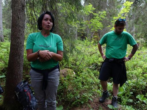 Manuela und Marco unsere kompetenten Guides