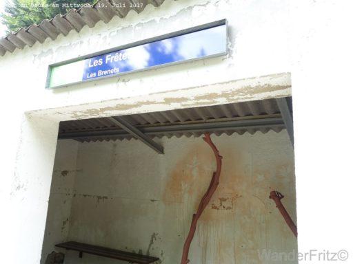 Zwischenstation des Bähnli