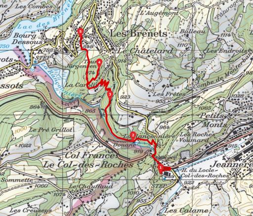 geplant und gezeichnet mit www.SchweizMobil.ch