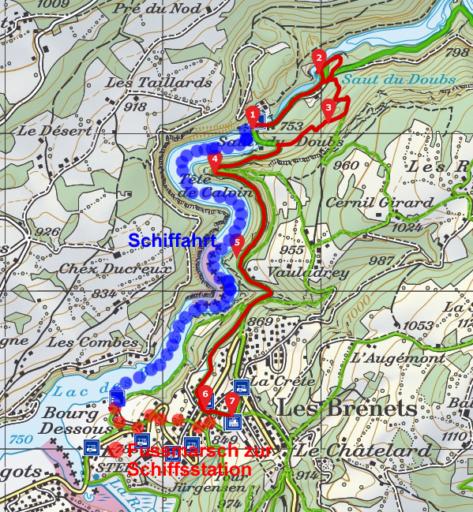 Saut du Doubs - Les Brenets