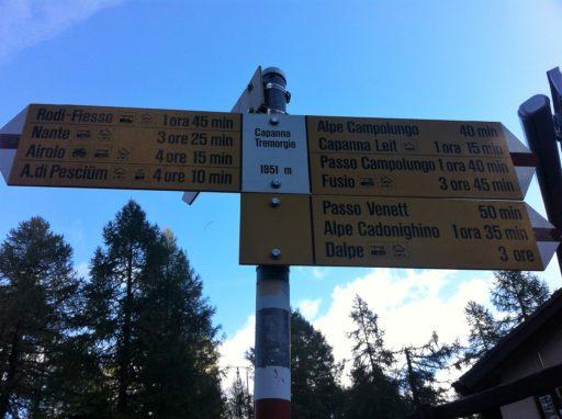 Start Bergstation Tremorgio