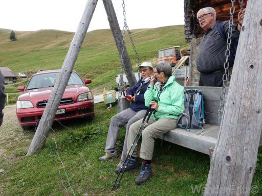 Auf der Alp Hugeli