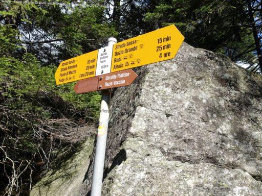 Dalpe - Percorso del Monte Piottino