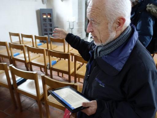 Robert gibt uns interessante Infos zur Kirche in Wolfgang