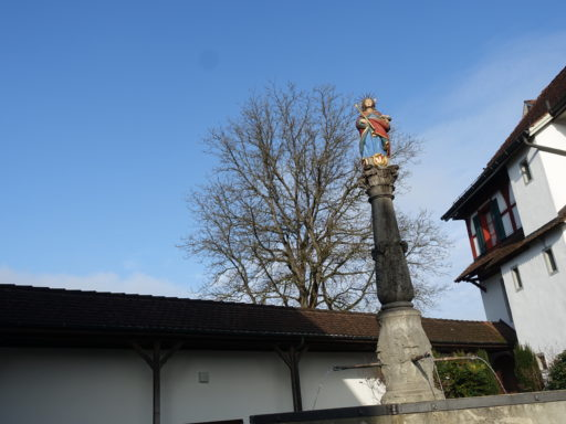 Die Märtyrerin Agathe im Kloster Frauental
