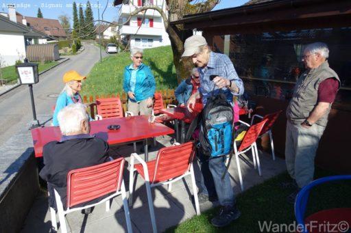 Startkaffe in Arnisäge
