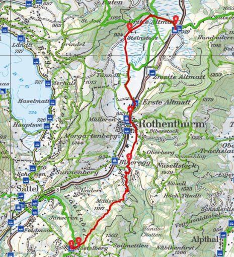 Route Mostelberg . Altmatt