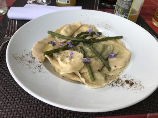 Das sehr gute, nicht billige Essen in Bellerive
