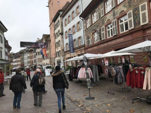 In der Altstadt von Rheinfelden