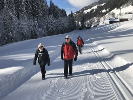 Ideale Winterwanderung
