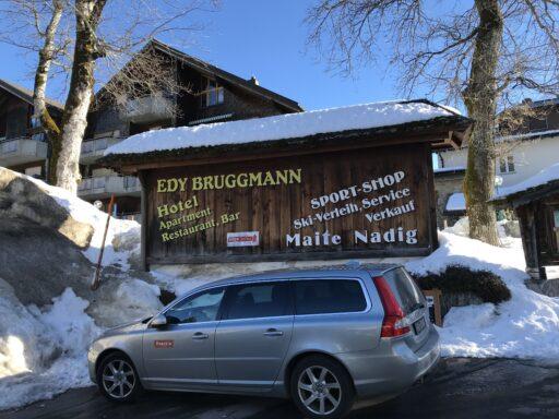 Startkaffee bei Edy Bruggmann