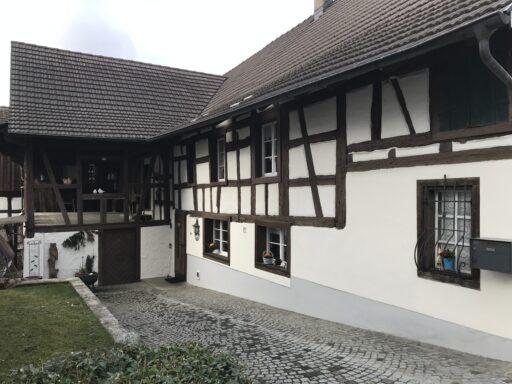 Schönes Fachwerkhaus in Wil ZH