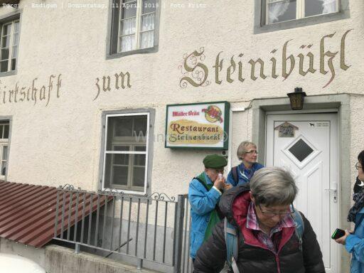 Gut und günstig im Restaurant Steinenbühl