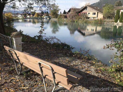 Aare bei Interlaken West