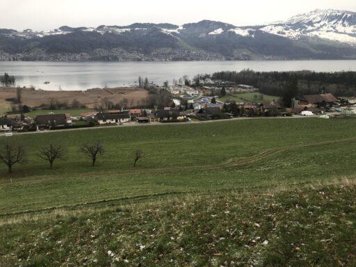 Schöner Ausblick auf den Thunersee