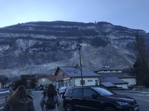 Unser Ziel: Die Bergstation