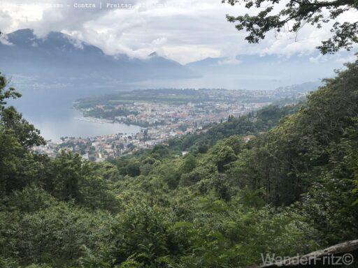 Wunderbarer Blick auf das Maggiadelta