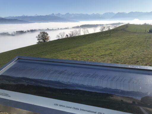 Panorama sicht vom Chutzen