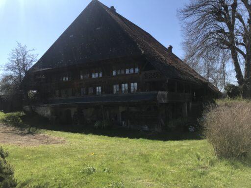 Altes, schönes Bauernhaus in Madiswil