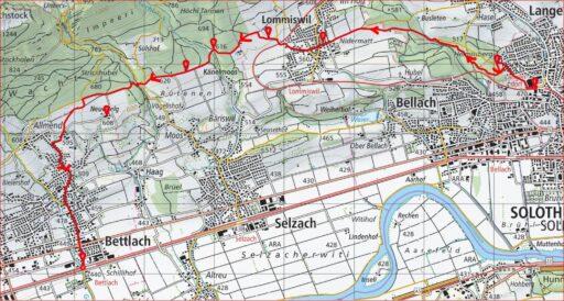 Routenplan