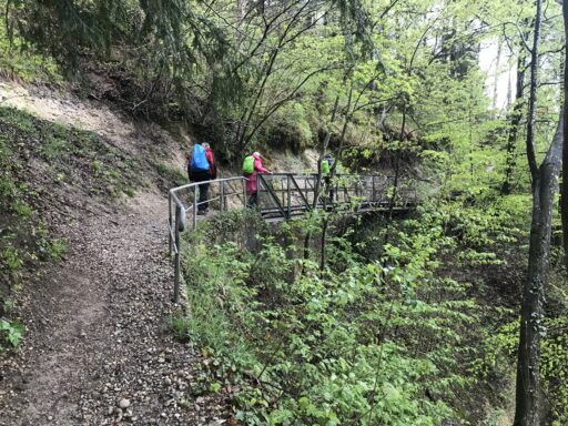 Aufstieg zur Ruine Hochlandenberg