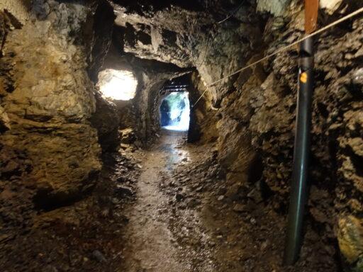 Im Winter besonders interessant: Tunnel zwischen Seblen und Gumen