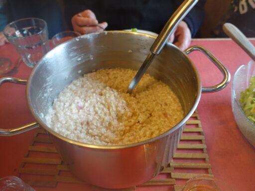 ..herrliches Zitronenrisotto bei Pia Buob