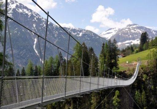 Mostelberg Hängebrücke